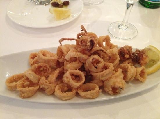 Trattoria aroma: calamari