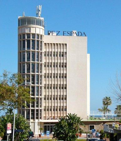 MedPlaya Hotel Pez Espada: Fron of hotel Pez Espada