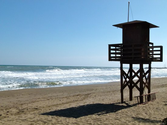 MedPlaya Hotel Pez Espada : Lifeguard tower on the beach