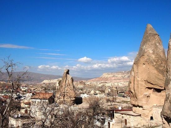 Cappadocia Cave Suites: 景色