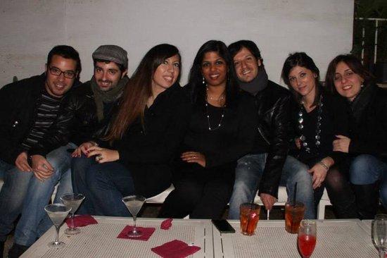 Restaurante Y Cantina Mexicana El Mezcalito : Io con miei amici per festegg il mio 32comple abb. Mang. Come aperitivo e abbiamo bevuto bella s