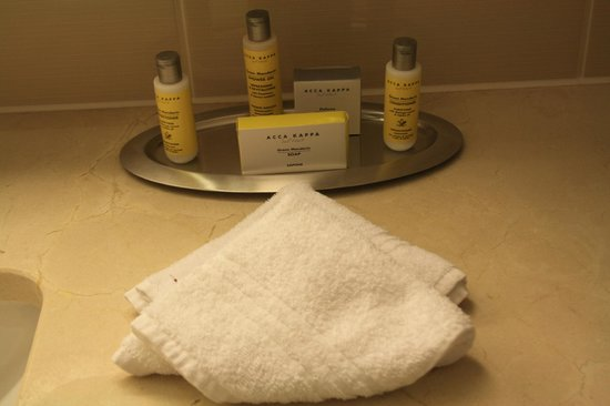 Paris Marriott Opera Ambassador Hotel: Toiletries