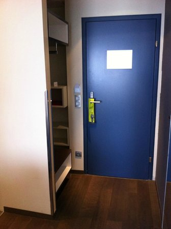 Roomz Vienna: Porta camera