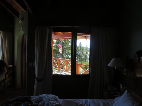 Charming Luxury Lodge & Private Spa: view from the room