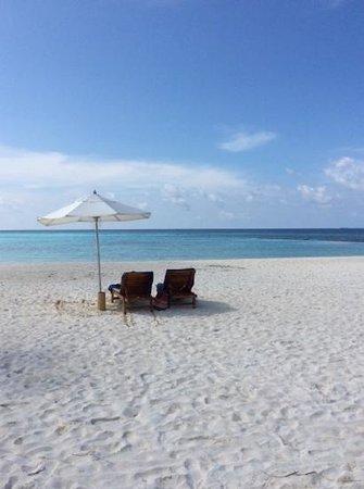 Maafushivaru: playa