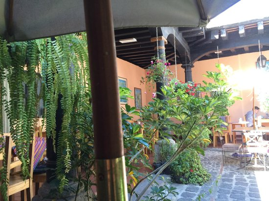 Fernando's Kaffee: Another view from the courtyard
