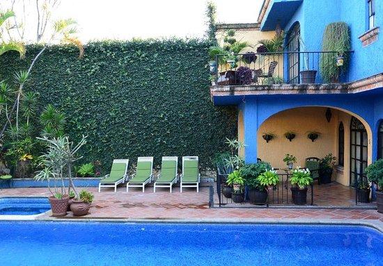 La Villa del Ensueno Hotel: Alberca