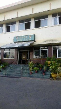 Kajri Hotel : Hotel Entrance
