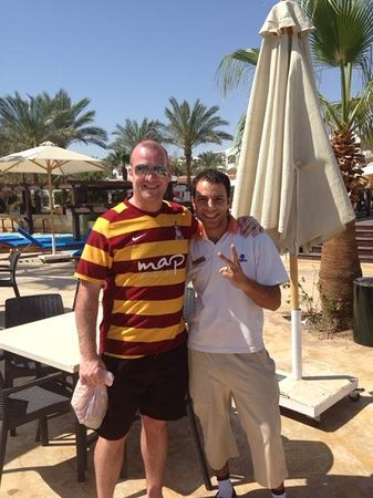 Hilton Sharm Dreams Resort: Mohammed himself!