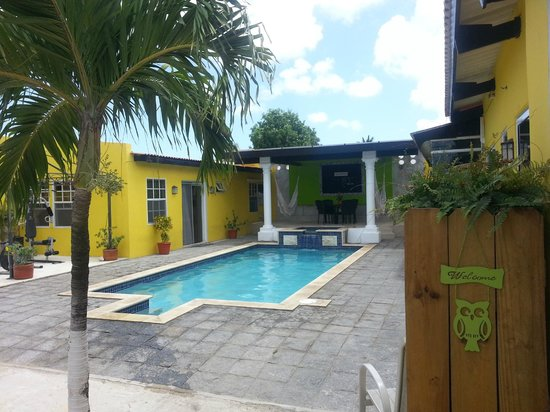 Solar Villa : View from the door of our Apartment