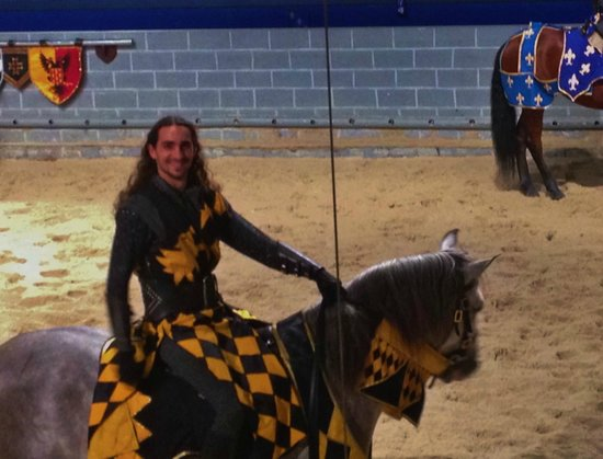 Medieval Times Dinner & Tournament: GoYellowKnight!!!!