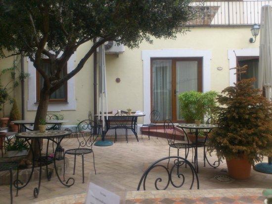 Relais Le Clarisse in Trastevere: Garten
