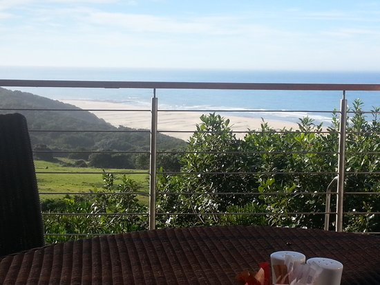 Oceana Beach and Wildlife Reserve : view from the breakfast deck.
