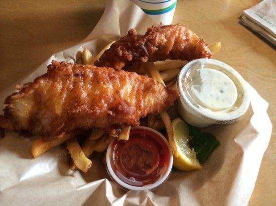 Bennett's Fish Shack: Cod Fish $ Chips