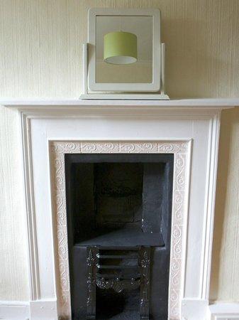 The Coach House: Room 5 fireplace