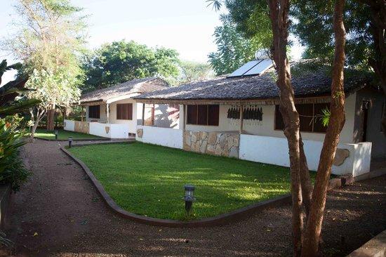 Honey Badger Lodge: quiet rooms