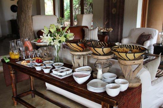 Royal Madikwe Luxury Safari Lodge : Our breakfast