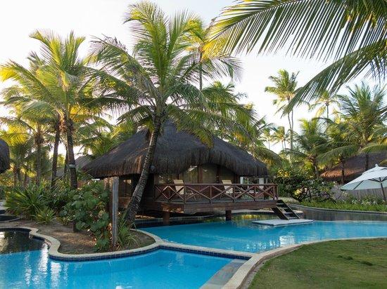 Nannai Resort & Spa: Bangalô e jardins.