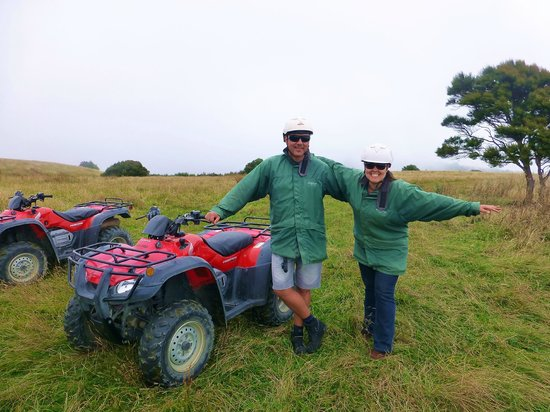 Glenstrae Farm 4 Wheel Adventures : Great fun with ATV's