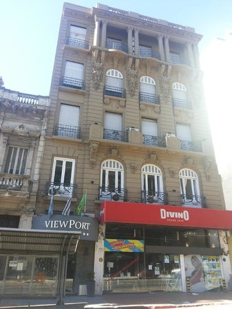 ViewPort Hotel Montevideo: fachada do hotel Viewport