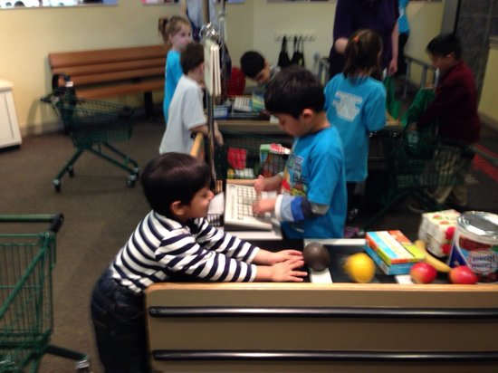 Kohl Children's Museum: The Dominick's grocery store.