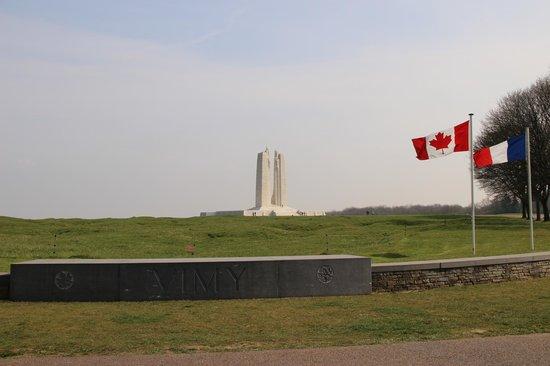 Mémorial de Vimy : entre du memorial de vimy