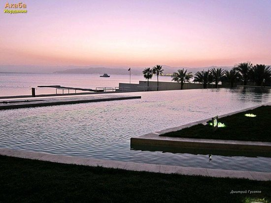 Kempinski Hotel Aqaba Red Sea: Вид из номера