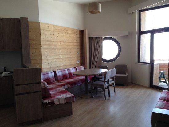 Pierre & Vacances Residenz Atria-Crozats: Tres grand appart avec 2 chambres.
