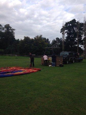 Alba Ballooning: Getting set up