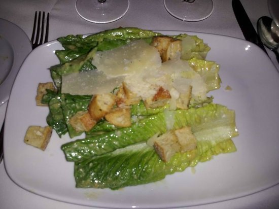 Andiamo Italian Steakhouse: The words most amazing Caesar Salad