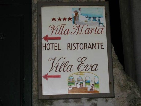 Villa Maria Hotel : entrata