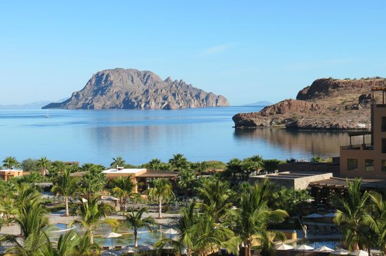 Villa del Palmar Beach Resort & Spa at The Islands of Loreto: View from our room. Beautiful!