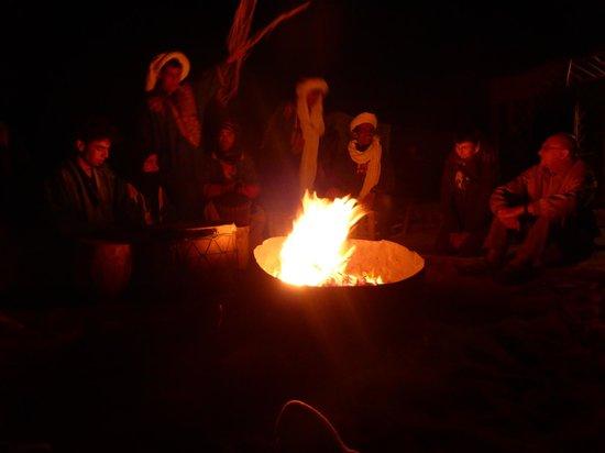 Marrakech Camel Trips: Campfire in Sahara!