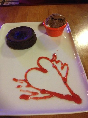 """Cheers Soul Kitchen: What I call """"lava cake""""....scrumptious!"""