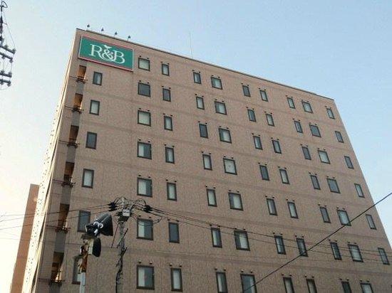 R&Bホテル京都駅八条口, ホテル外観