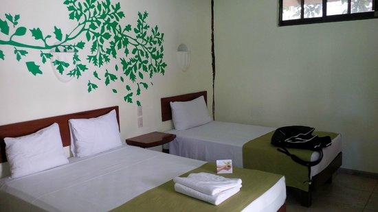 Hotel Posada Sian Ka'an: bed