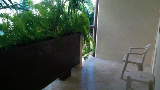 Hotel Posada Sian Ka'an: balcony