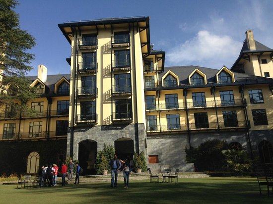 Wildflower Hall, Shimla in the Himalayas: The Garden View