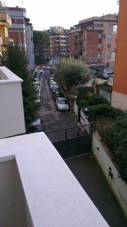 Hotel Club House Roma: vue du balcon