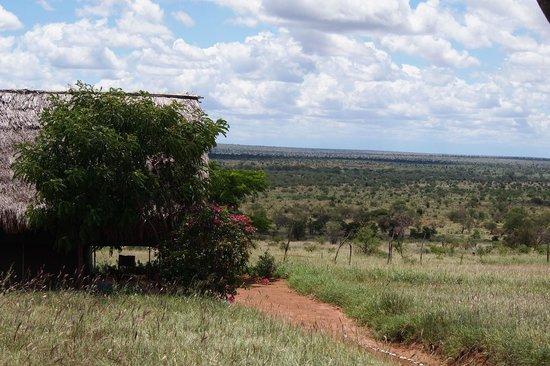 Lualenyi Camp : una delle tende (vista dalla nostra)