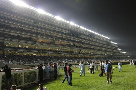 Meydan Racecourse : The Grandstand