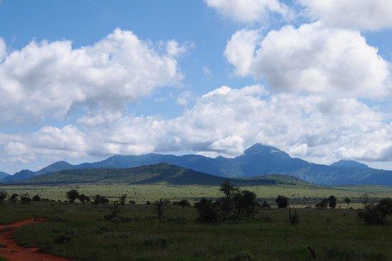 Lualenyi Camp : panorama della riserva