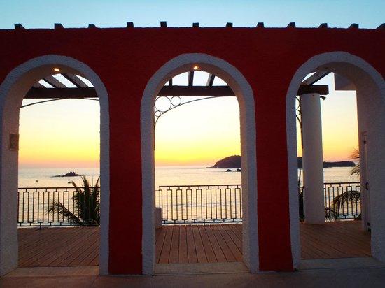 Club Med Ixtapa Pacific : coucher du soleil