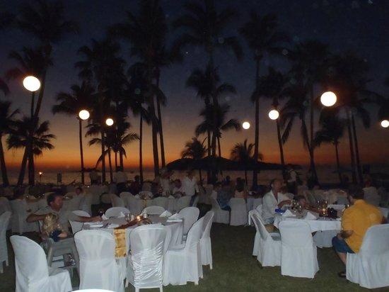 Club Med Ixtapa Pacific : Diner sous les étoiles