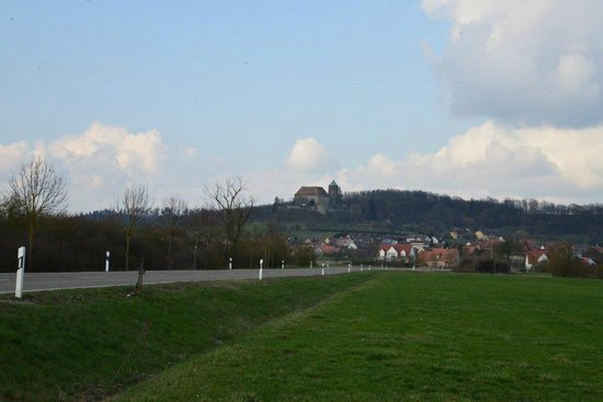Hotel Burg Colmberg: View of Castle