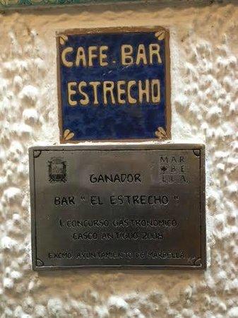 Bar El Estrecho: Cafe Bar Estrecho