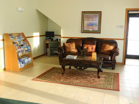 Quality Inn Livingston: Lobby