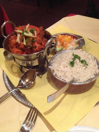 Indisches Restaurant Maharadscha: karahi chicken