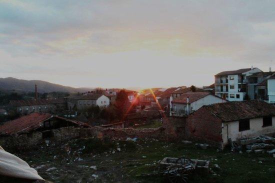 Hotel rural Candela y Plata: la puesta del sol