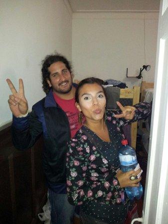 Makus Hostel : Amigos de Venezuela y Argentina